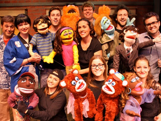 AVENUE Q RED BARN THEATRE.JPG
