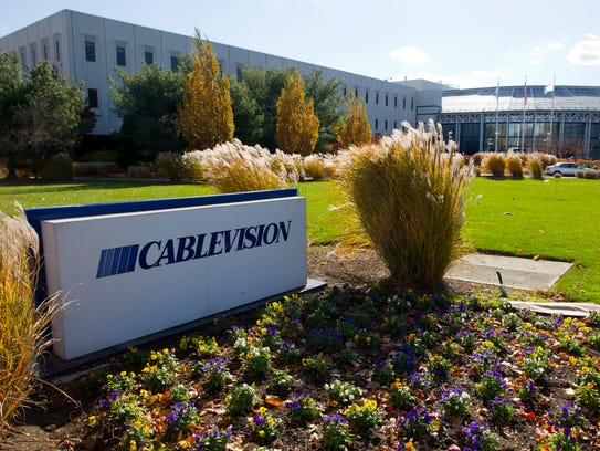 Cablevision Systems Corp. headquarters in Bethpage,