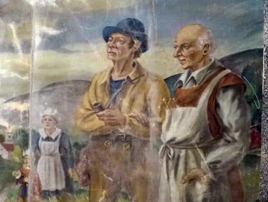 Rockland Psychiatric murals saved