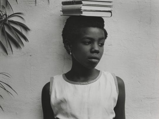 Anna Attinga Frafra, Accra, Ghana, 1964 (negative); 1964 (print). Paul Strand, American, 1890 - 1976. Gelatin silver print, Image: 7 5/8 × 9 5/8 inches (19.4 × 24.4 cm) Sheet: 7 13/16 × 9 13/16 inches (19.9 × 24.9 cm). Philadelphia Museum of Art, The Paul Strand Collection, purchased with the Henry P. McIlhenny Fund in memory of Frances P. McIlhenny, 2012. ? Paul Strand Archive/Aperture Foundation