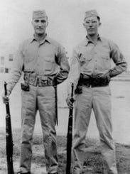 Vito Santangelo (left) and Frank Brown