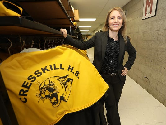 Melissa Cavins, will be starting as the Cresskill High/Middle School's assistant principal in January.