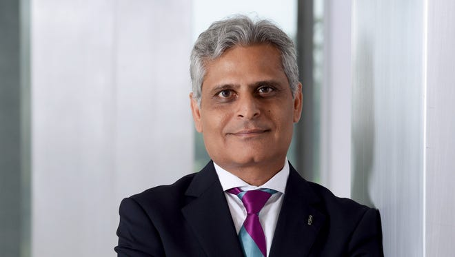 Kumar Galhotra, former president of Lincoln Motor Co., was promoted Thursday to president of Ford's North America operation.