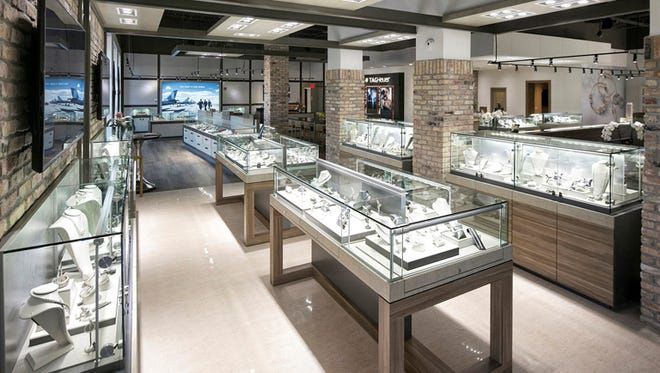 The new 12th Avenue flagship store is spacious and modern.