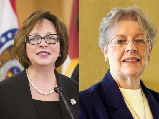 Sara Lampe and Donna Bergen will face off in the Democratic