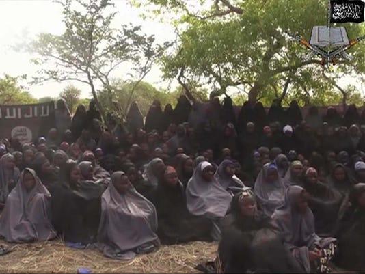 Nigeria abducted girls