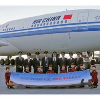 Air China takes delivery of Boeing's 747-8i