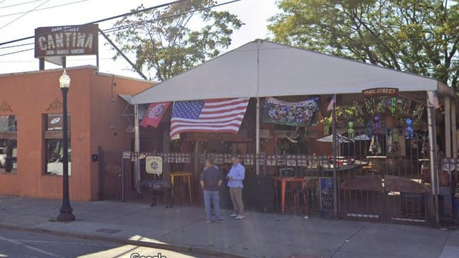 Three people were injured after shots were fired inside the Park Street Cantina on Sunday, May 2, 2021.