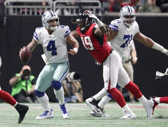 NFL: Dallas Cowboys at Atlanta Falcons