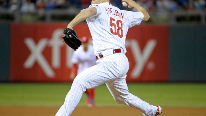 Jonathan Papelbon (58) blew a save in a big way, allowing 4 runs in the ninth inning against the Marlins.