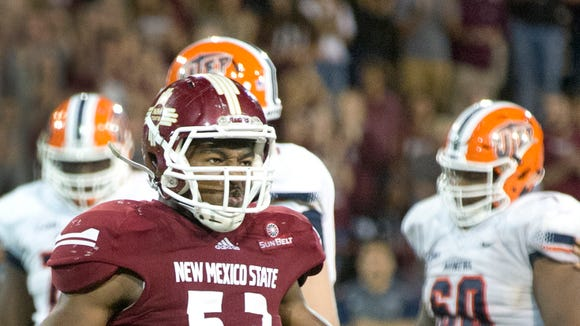 Former NMSU linebacker Rodney Butler signed a free agent contract with the Seattle Seahawks on Wednesday.