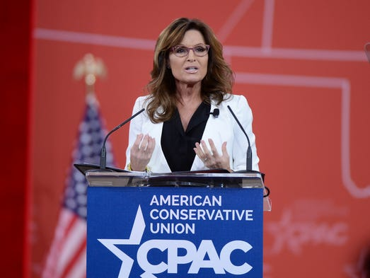 Palin speaks at the Conservative Political Action Conference on Feb ...
