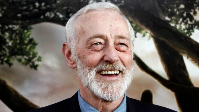 In this July 26, 2010, file photo, actor John Mahoney arrives at a premiere in Los Angeles. The actor's longtime manager said Mahoney died Sunday in Chicago. He was 77.