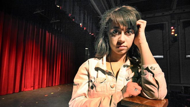 """Carson Meyer, a senior at Herron High School, Indianapolis, lost both of her brothers to heroin and a drowning accident. She is in the show """"Go Ask Alice"""" at the Young Actors Theatre at the Athenaeum. All proceeds are going to her college fund."""