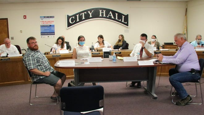 The Port Jervis Common Council met in person this week for the first time in months, with socially distanced seating.