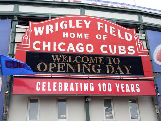 Wrigley Field turns 100 years old April 23. It's one of the oldest active major league parks -- second to Fenway Park.