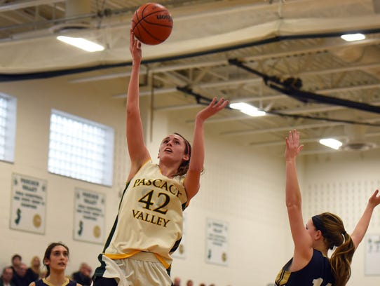Pascack Valley senior guard Kelly Petro was an integral part of her team downing Rumson-Fair Haven on Friday.
