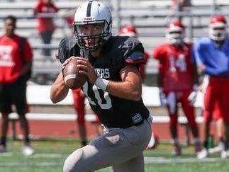 Bridgewater-Raritan quarterback Eric Nickel is the Courier News Player of the Week.