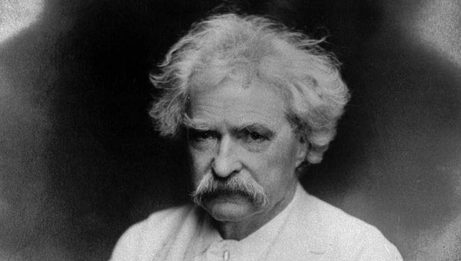 "Author Mark Twain (1835-1910) is the subject of ""Dreamland: Mark Twain's Journey to Jerusalem."""