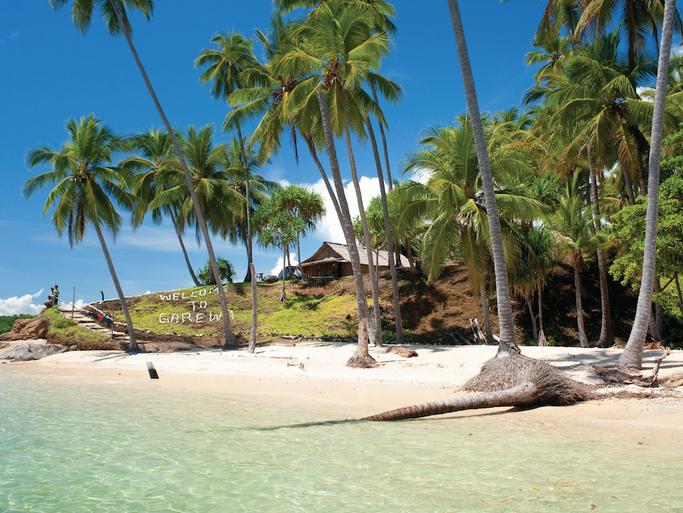Tufi. Papua New Guinea