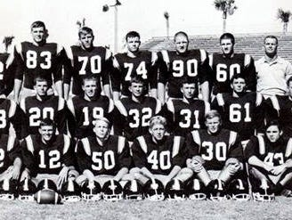 The 1967 Eau Gallie High football team yielded many players who played in college. Dale Hutcherson was one of them.