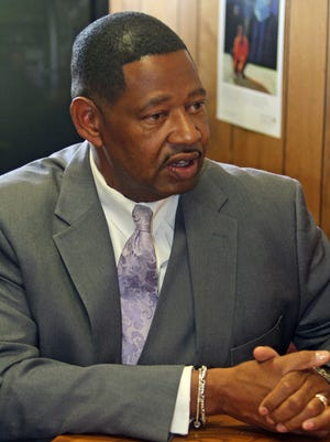 Mount Vernon Superintendent Kenneth Hamilton testified in February in a case challenging a lack of state funding for eight small-city school districts.