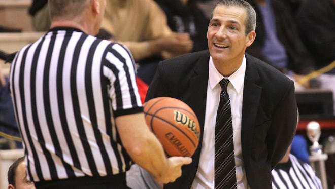 FILE – Former Park Tudor coach Ed Schilling is leaving UCLA and coming back to Indiana.