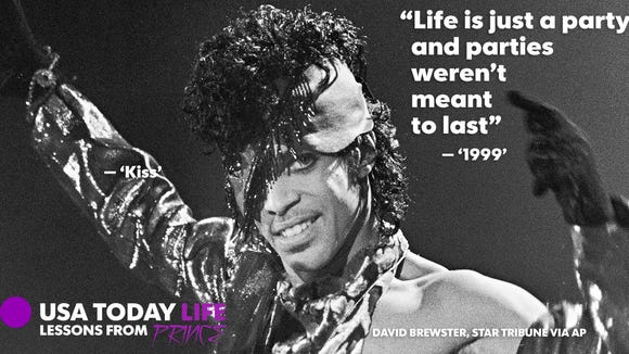 Life lessons we learned from Prince lyrics