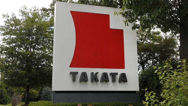 Takata is adding 2.7 million vehicles from Ford, Nissan and Mazda to the long list of those recalled to replace potentially dangerous air bag inflators.