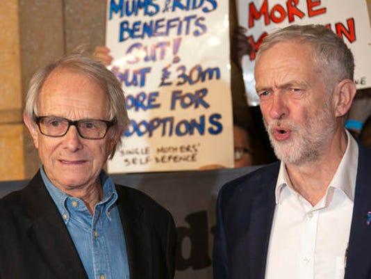 Ken Loach, Jeremy Corbyn