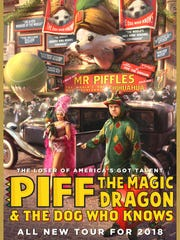 Piff the Magic Dragon makes a stop in Atlantic City