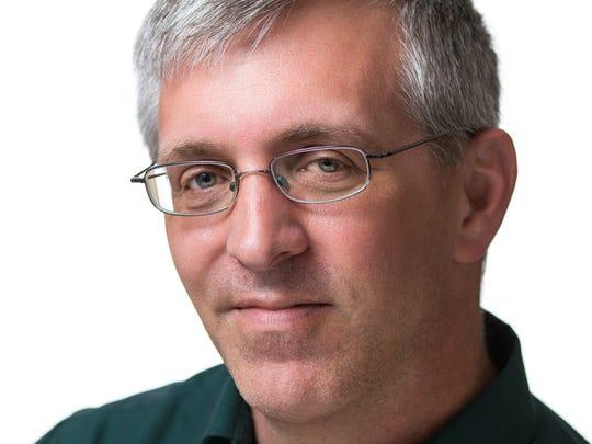 Author Paul Hoffman