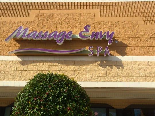 A Massage Envy Spa in Jacksonville Beach, Fla.