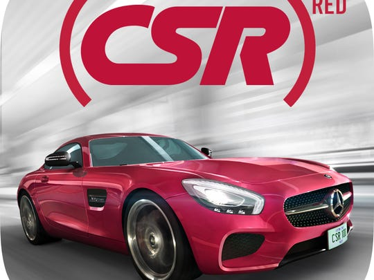 CSR Racing has an in-app upgrade to a (RED)-branded Mercedes-Benz AMG-GT, one of 25 apps working with Apple to donate money over the next two weeks to fight HIV/AIDS.