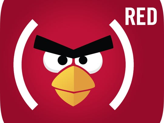 Angry Birds' logo will go (RED) during Apple's two-week