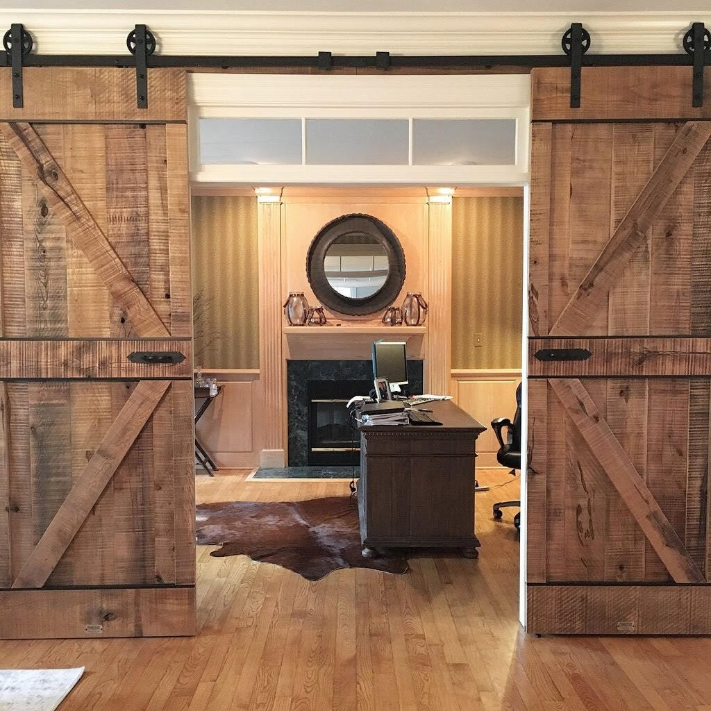 Rustic Barn Doors By Tennessee Barn Doors.