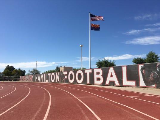 Hamilton High School football