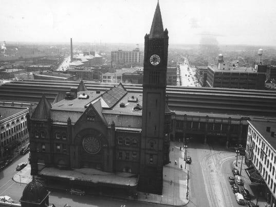 Union City Indiana Railroad Station