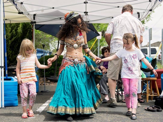 Music and dance performances are part of the fun at