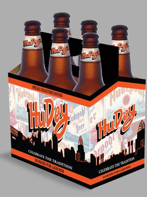 Hudepohl Pure Lager is being released in HuDey commemorative packaging.