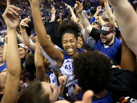 2016 Liberty vs. UNCA Women's Big South Title Game
