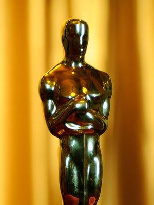 Oscar statue.