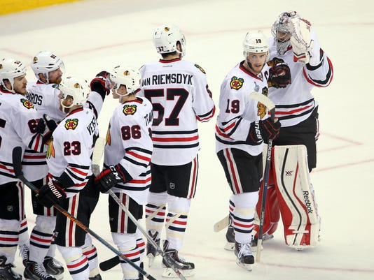 NHL: Stanley Cup Final-Chicago Blackhawks at Tampa Bay Lightning