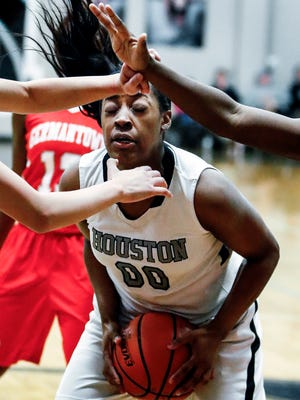 Houston's Jayla Hemingway is averaging 17.1 points per game so far this year. But her coach says she's improving in other areas of the game as well.