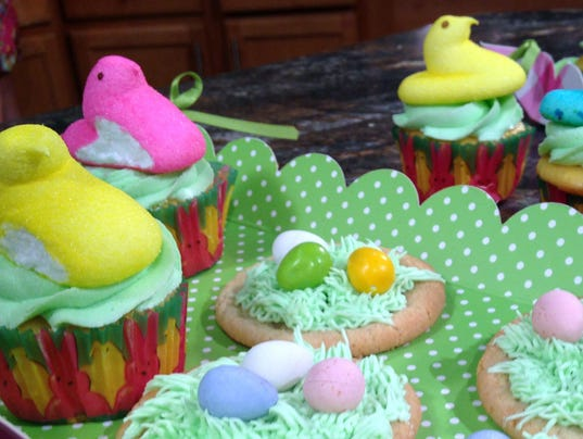Easter Cupcakes with Surprise (Photo: Cyndy Cass, WBIR)
