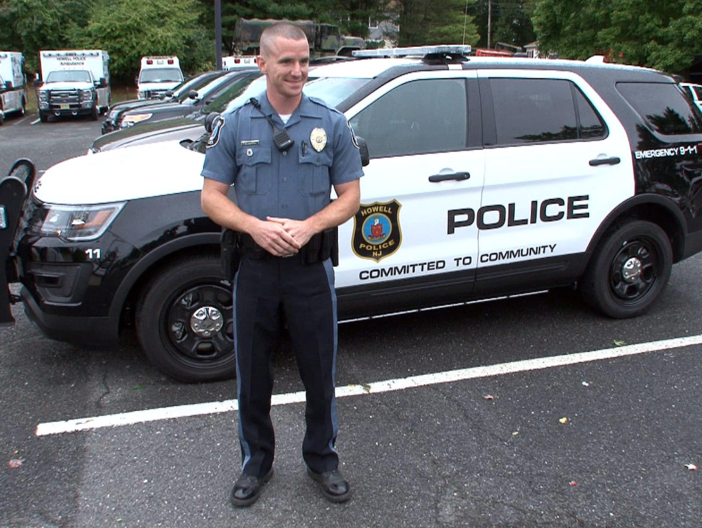 Howell Township Patrolman Nicholas Austin