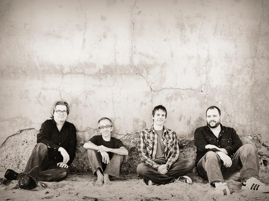 Toad The Wet Sprocket poses in this undated publicity photo.