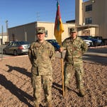 Rear detachment keeps unit running at Fort Bliss while rest of 11th Brigade HQ is deployed