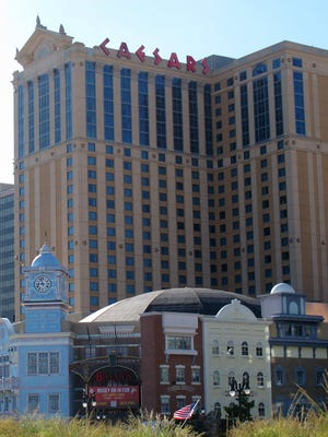 Caesars posted the biggest revenue gains among Atlantic City casinos in March 2017.