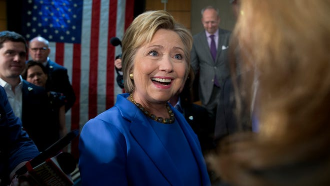 Hillary Clinton, former secretary of state and Democratic presidential candidate